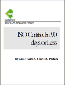 ISO Certification and ISO Certified Book