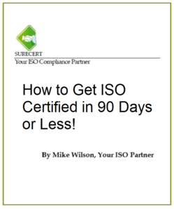 ISO Certification ISO 9001
